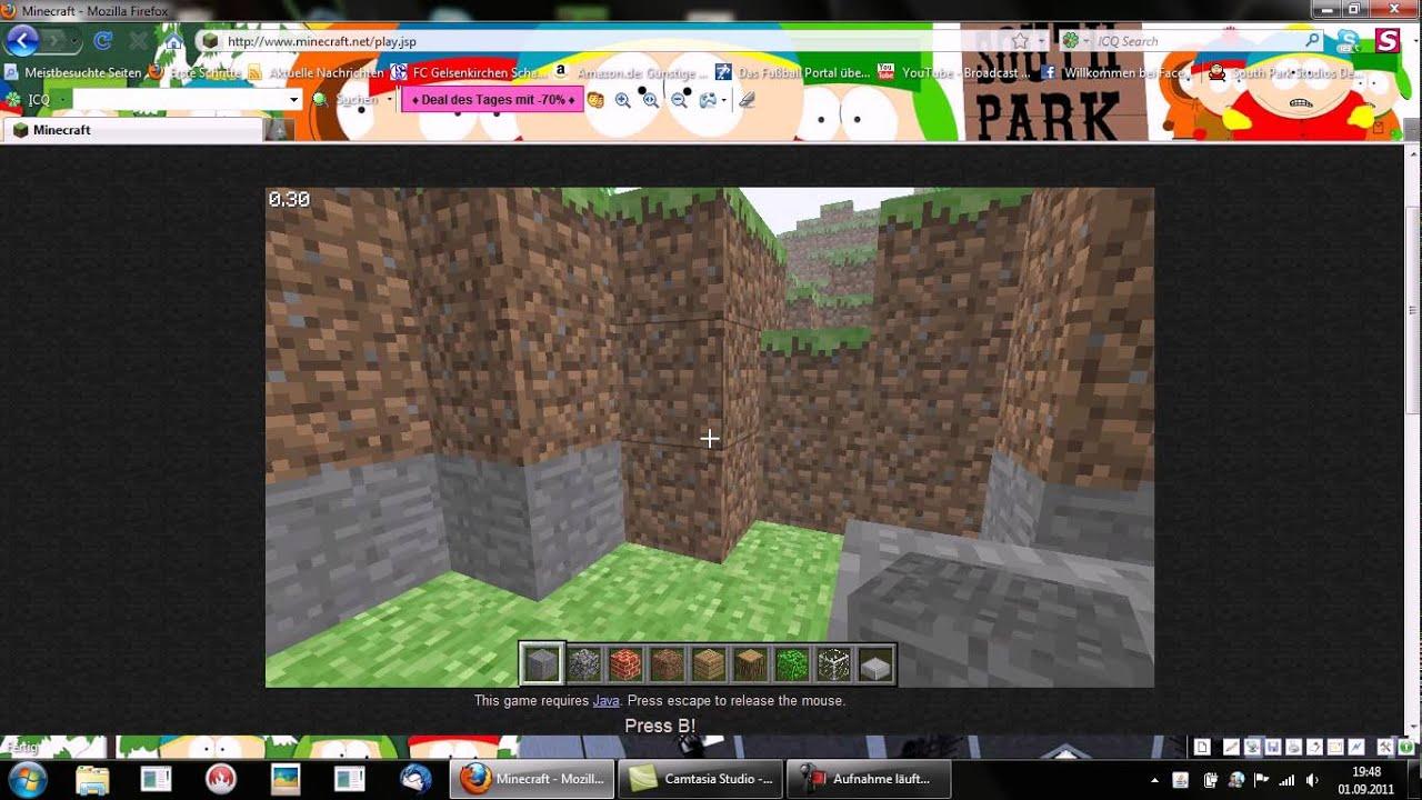 minecraft.net kostenlos spielen