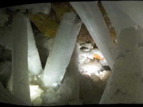 Naica Mine - Gypsum - Selenite