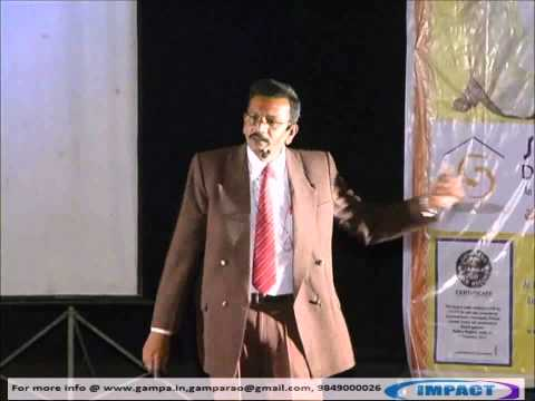 SELF CONFIDENCE by MADAN GUPTA at IMPACT 2012 HYDERABAD