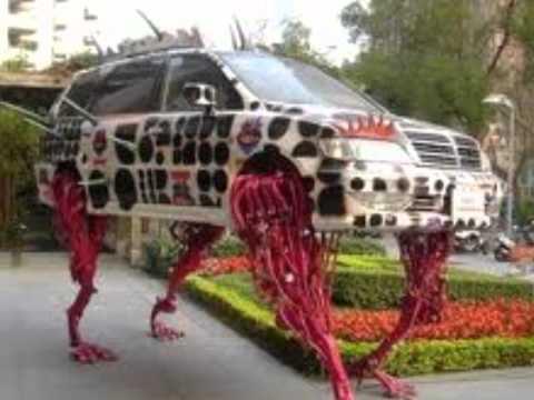 Os carros mais estranhos do mundo