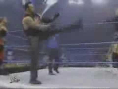 Angle,Chris Benoit,Eddie Guerrero vs Undertaker,Edge,Rikishi 1 -6dzrZu3-yIA