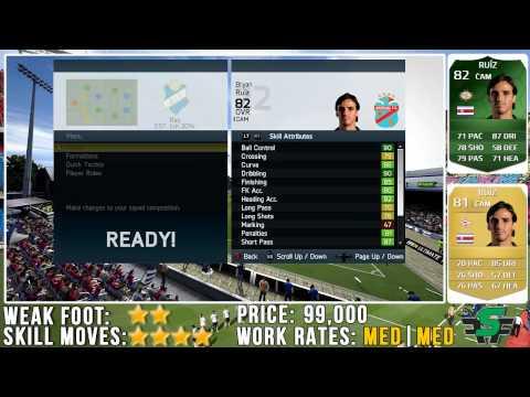 FIFA 14 iMOTM Bryan Ruiz Review (82) w/ In Game Stats & Gameplay