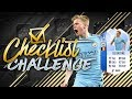 INSANE 91 RATED TOGS KEVIN DE BRUYNE CHECKLIST CHALLENGE FIFA 18