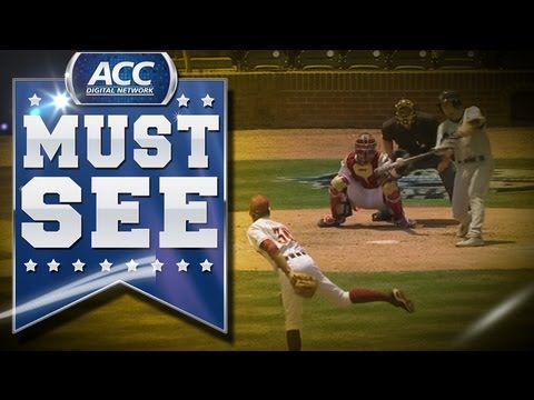 GT's A.J. Murray & Mott Hyde Hit Back-to-Back Jacks to Beat FSU - ACC Must See Moment