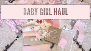 HUGE BABY GIRL HAUL | SMALL SHOPS, CARTERS & MORE | TARA HENDERSON