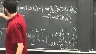 Lec 07 - Linear Algebra | Princeton University