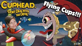 FLYING CUPS!!!  Taking Down HILDA BERG & RIBBY and CROAKS!