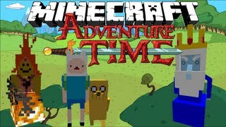 Minecraft: ADVENTURE TIME! Finn And Jake's Adventure