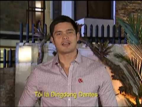 Marian Rivera và Dingdong Dantes chào Việt Nam và SNTV-SCTV6