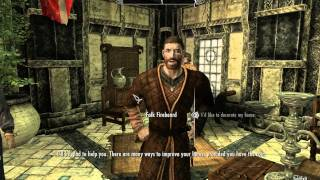 Skyrim Free House Tutorial GLITCH For 360/PC/PS3
