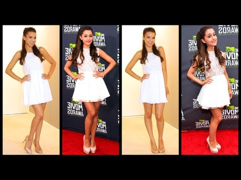 Get The Look! ♥ Ariana Grande Inspired Makeup + Outfit