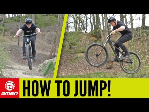 How To Jump On A Mountain Bike | MTB Skills