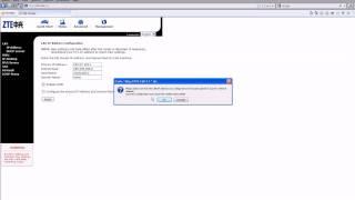 Como Configurar O Modem ZTE ZXDSL 831 IP FIXO METRO