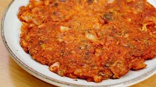 백종원 김치전 만들기♥바삭바삭 아주 맛있어욤~ Kimchijeon, Kimchi Pancake Recip