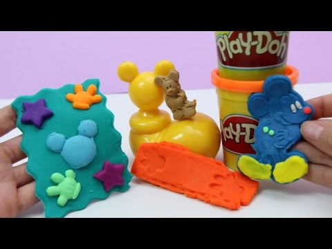 Play Doh Mickey Play Dough Disney Junior Toy Review playset