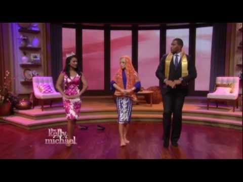 Miss America 2014 Nina Davuluri on LIVE with Kelly and Michael