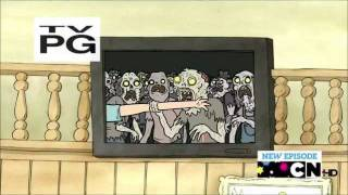 Regular Show Zombie Dinner Party