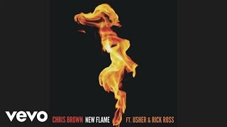 Chris Brown New Flame (Edited Version) Ft. Usher, Rick