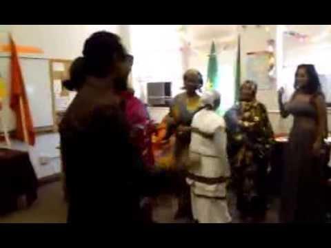 International Day - Refugees of Somalia, Ethopia and Sudan dancing
