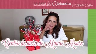 Centro De Mesa De Minnie Mouse DIY Minnie Mouse