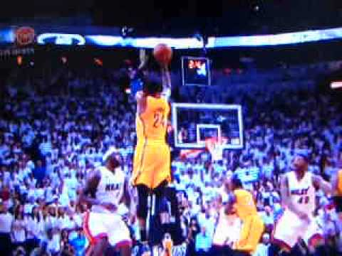 Miami heat vs indiana pacers game 2 halftime report 5/24/2013