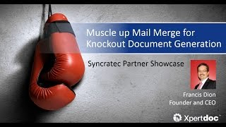 Muscle up Mail Merge capabilities for Dynamics CRM [EN]