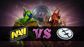 Highlights: Natus Vincere vs Evil Geniuses. The International 2014 Phase Two