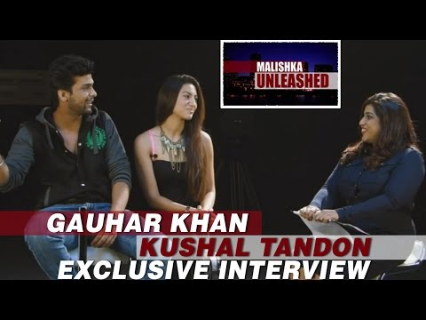 Gauhar Khan, Kushal Tandon Exclusive Interview - Part 3 | Malishka Unleashed