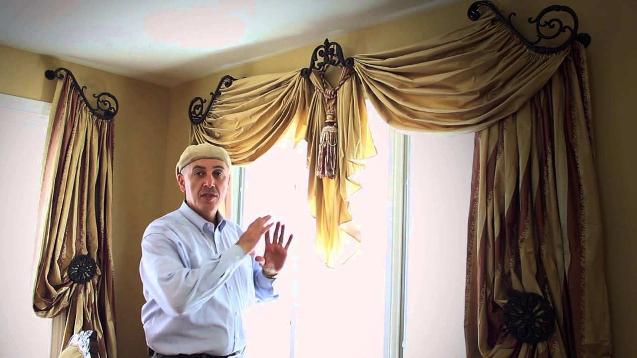 Video 34 Do It Yourself Drapes Window Treatment Ideas