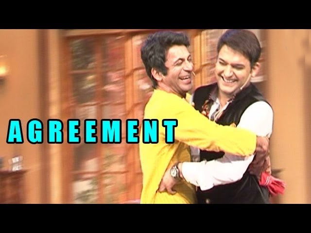 Comedy Nights with Kapil - Gutthi aka Sunil Grover and Kapil to come to an AGREEMENT