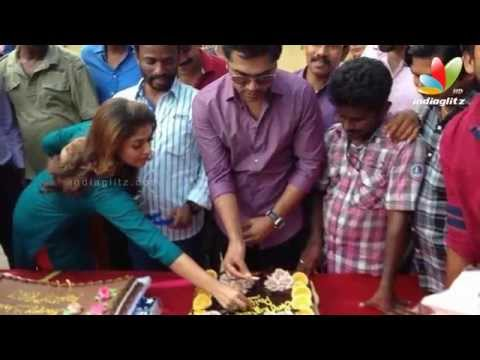 Simbu and Nayantara Celebrate Pandiraj's Birthday  | Idhu Namma Aalu | Hot Cinema News