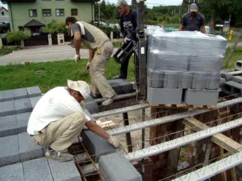 Układanie stropu Teriva cz 1 - Stropex