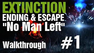 Call Of Duty Ghosts Extinction ESCAPE & ENDING Walkthrough
