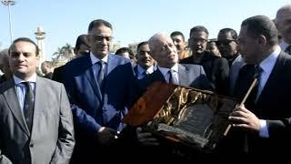 افتتاح بطولتي النيل الدولية الأولى والعربية