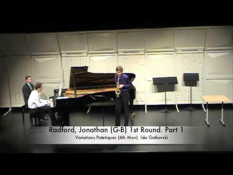 Radford, Jonathan (G-B) 1st Round. Part 1