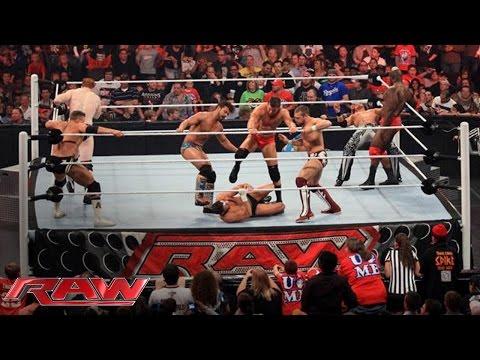 FULL-LENGTH MATCH - Raw - 10-Man Intercontinental Championship Battle Royal