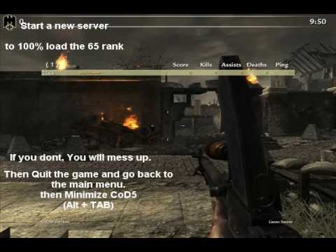 Онлайн-игры бесплатно Call of Duty: World at War Full Prestige Hack Version