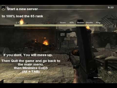 Онлайн-игры бесплатно Call of Duty: World at War Full Prestige Hack Version