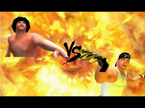 WWF - Smackdown 2 Scotty vs Sexay