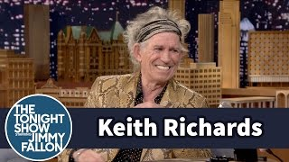 Keith Richards on Lead Belly and Goodnight Irene