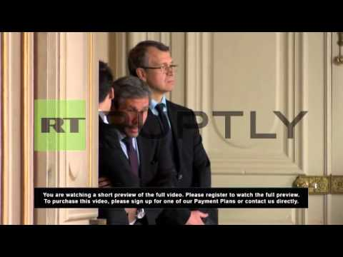 France: Fabius and Lavrov meet in Paris