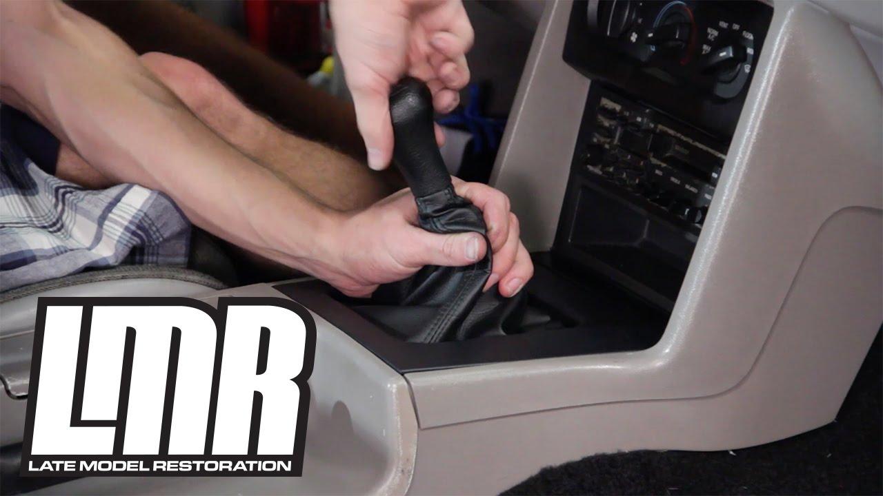 Mustang Shifter Boot Amp Bezel Installation 5 0resto Fox