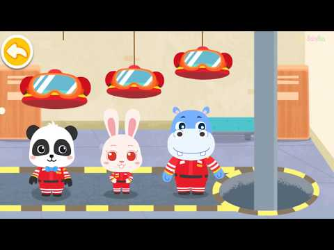 Baby Panda's Rescue Tools - Learn How To Protect Yourselfe - Fun educational Games
