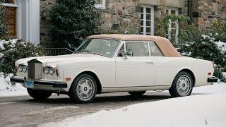 1983 Rolls Royce Corniche Drophead Coupe by Mulliner Park Ward