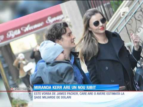 Miranda Kerr are un nou iubit!