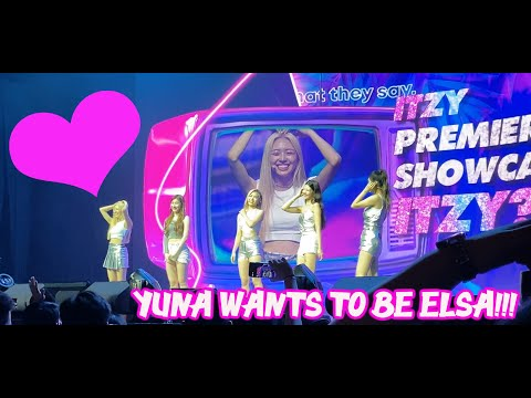 ITZY giving FIVE HEARTS each for MIDZYS |FUNNY GUESSING GAME |YUNA WANTS TO BE ELSA| SHOWCASE MANILA