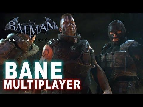 Batman Arkham Origins   Online Multiplayer Bane Thug Adventures Arkham