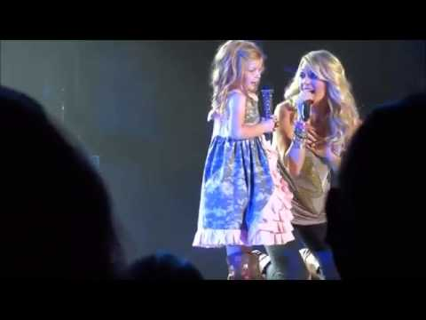 The Amazing Carrie Underwood Pulls a Little Girl Onstage - and Makes Her Dreams Come True!