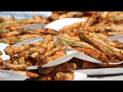 Deep-Fried Asparagus Championship 2013