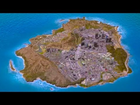 GTA 5 - Los Santos Beta Map!? - Hidden/Lost City Found On In Game Website!? (GTA V)
